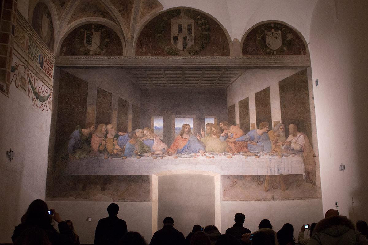ContemporaryNomad.com | Plan your Visit to Leonardo da ... Da Vinci Last Supper Original